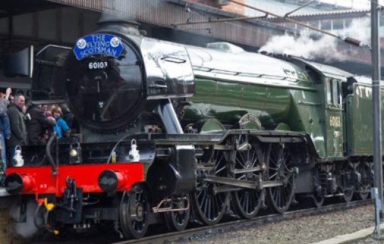 Flying Scotsman after restoration