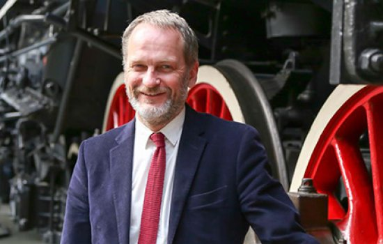 Paul Kirkman, director of the National Railway Museum 2012-2017