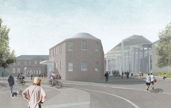 Artist's impression of York Central - Museum Square