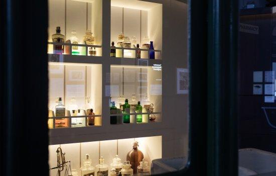 A medicine cupboard