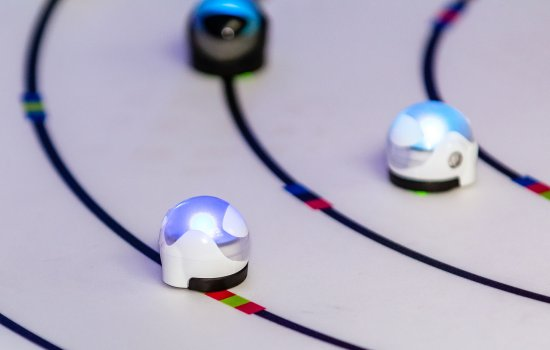 Small robots on tracks