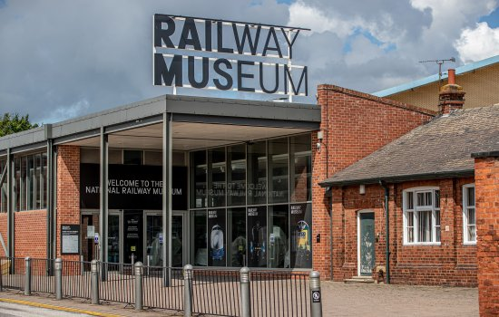 Railway Museum entrance