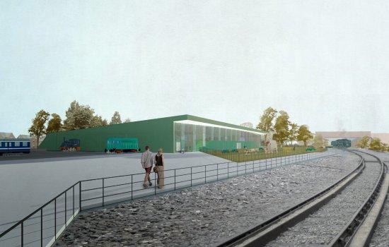 Locomotion new building