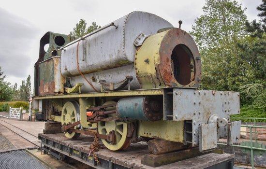 The Handyman locomotive