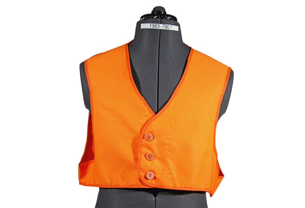 High-visibility vest, British Rail, c.1967