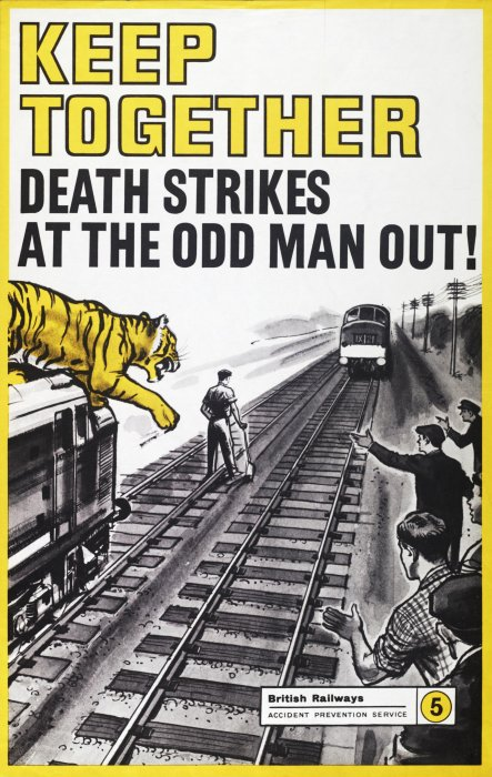 British Railways (London Midland Region) poster, 1960