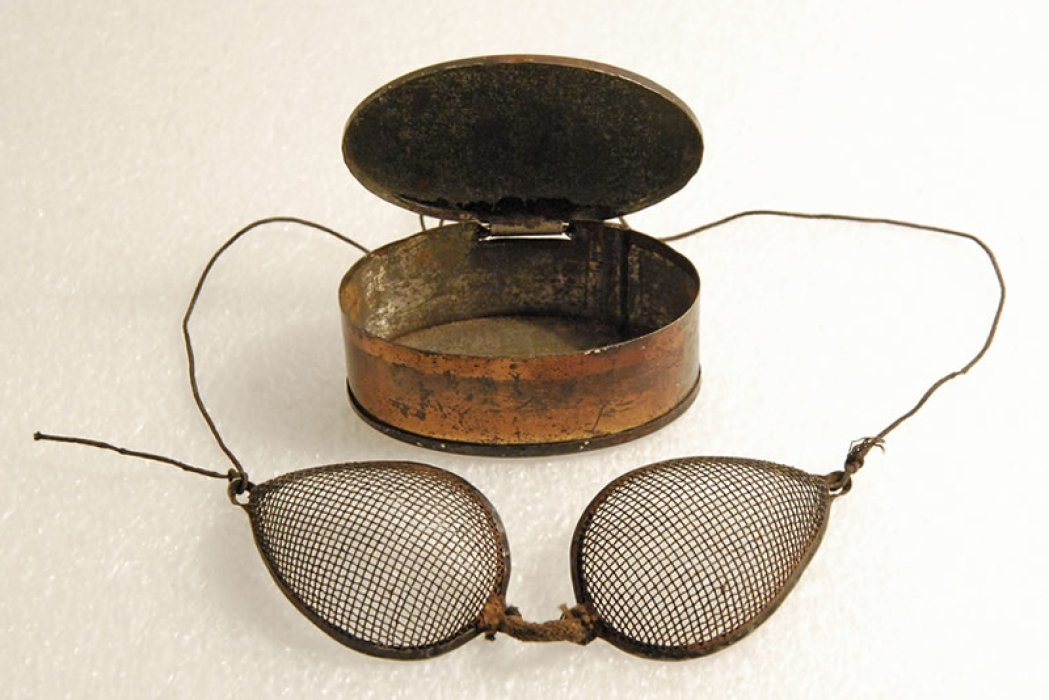 British Rail Engineering Limited goggles (issued from the late 1960s-1980s) found at Swindon Works.