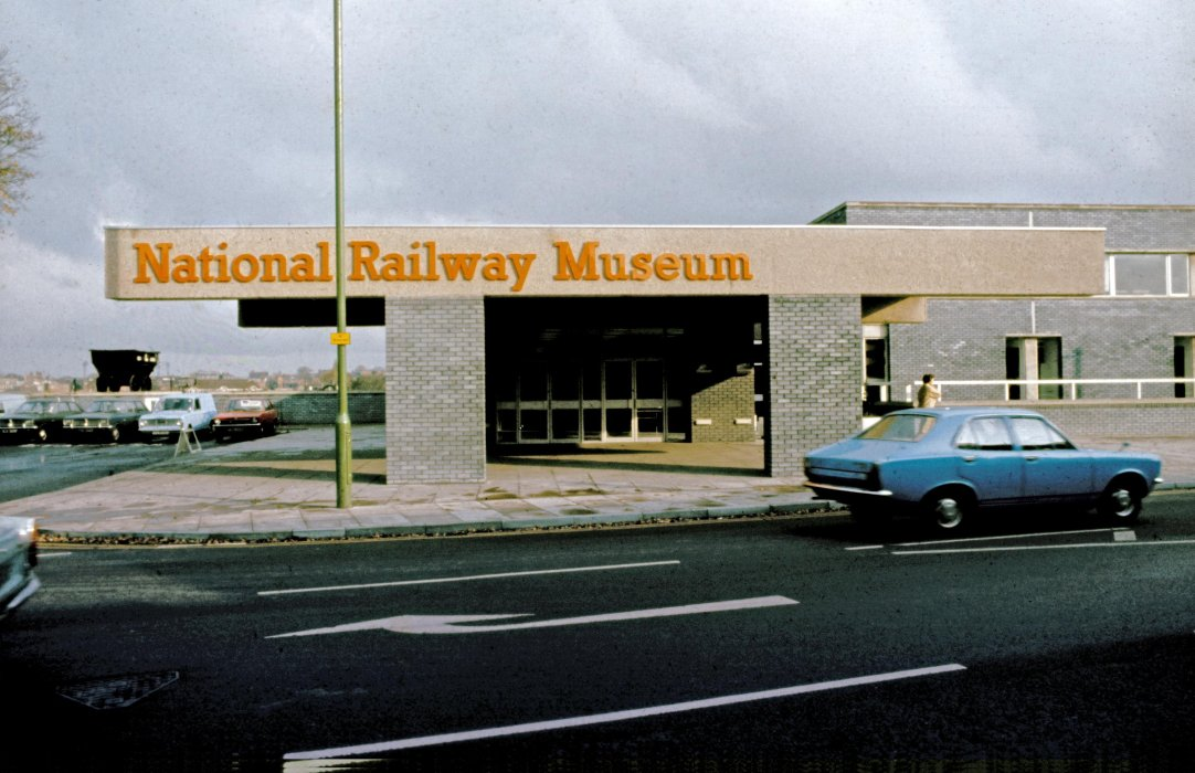 Leeman Road entrance to National Railway Museum, 1975