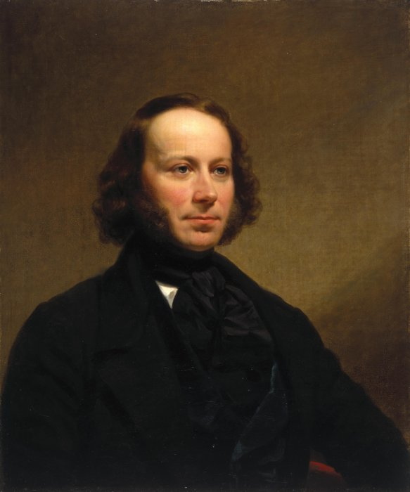 Portrait of John Ericsson by Charles Loring Elliott