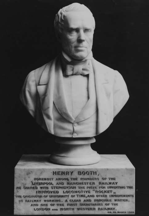Bust of Henry Booth