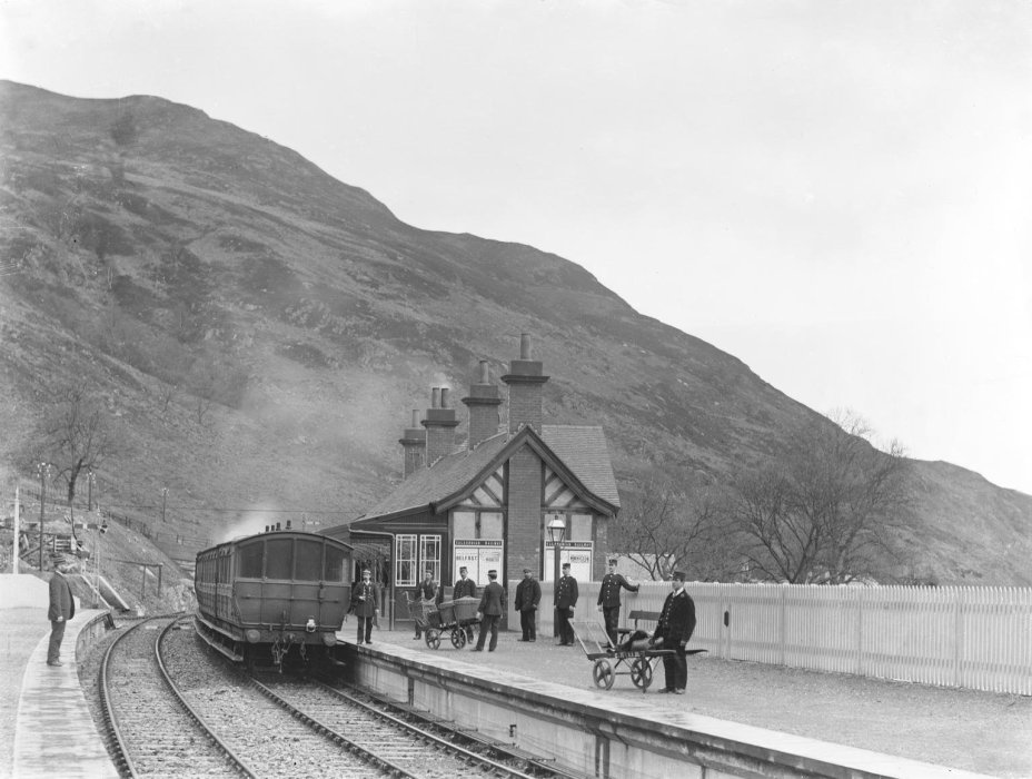St Fillans Station