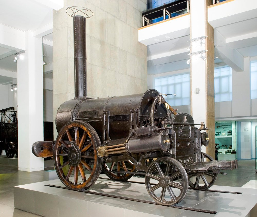 Stephenson's Rocket at the Science Museum