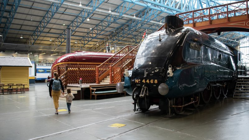 October Half Term at The National Railway Museum